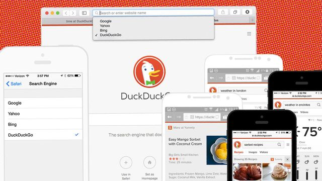 Starting Today, Your iPhone Can Ditch Google For DuckDuckGo's Private Search ⚙ Co.Labs ⚙ code + community