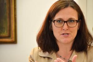 EU home affairs chief Cecilia Malmström