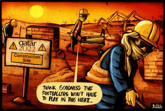 Ben Jennings on the 2022 World Cup in Qatar – cartoon | Comment is free | The Guardian