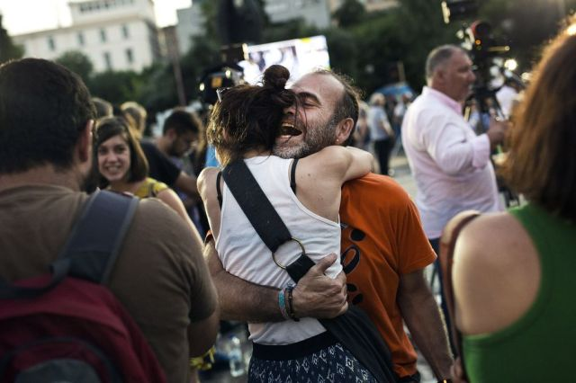 All of Greece partied last night after rejecting austerity | The Verge
